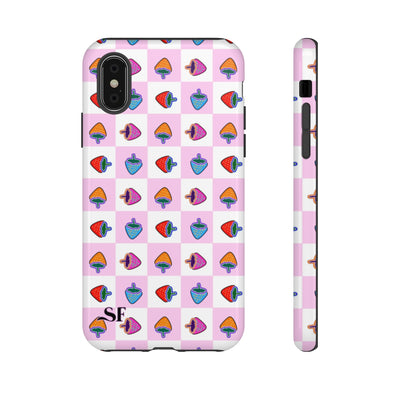 Pink Berry Shock Case
