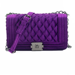 Load image into Gallery viewer, PURPLE HANDBAG FOR WOMEN