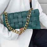 Load image into Gallery viewer, GREEN HANDBAG FOR WOMEN