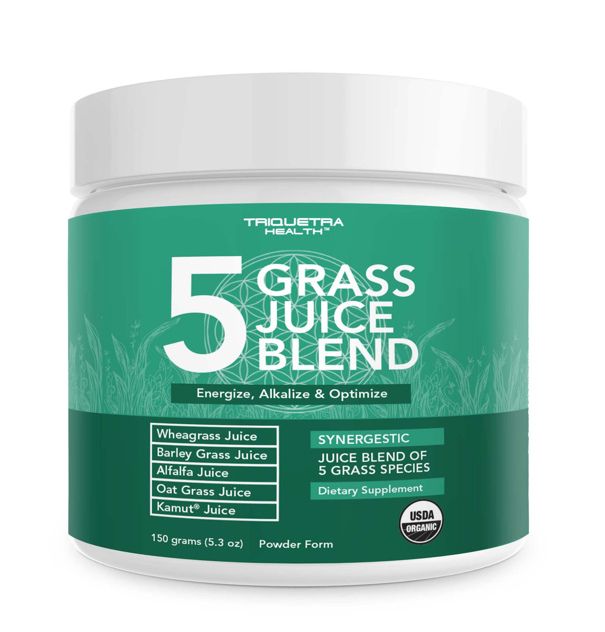 Organic 5 Grass Juice Powder