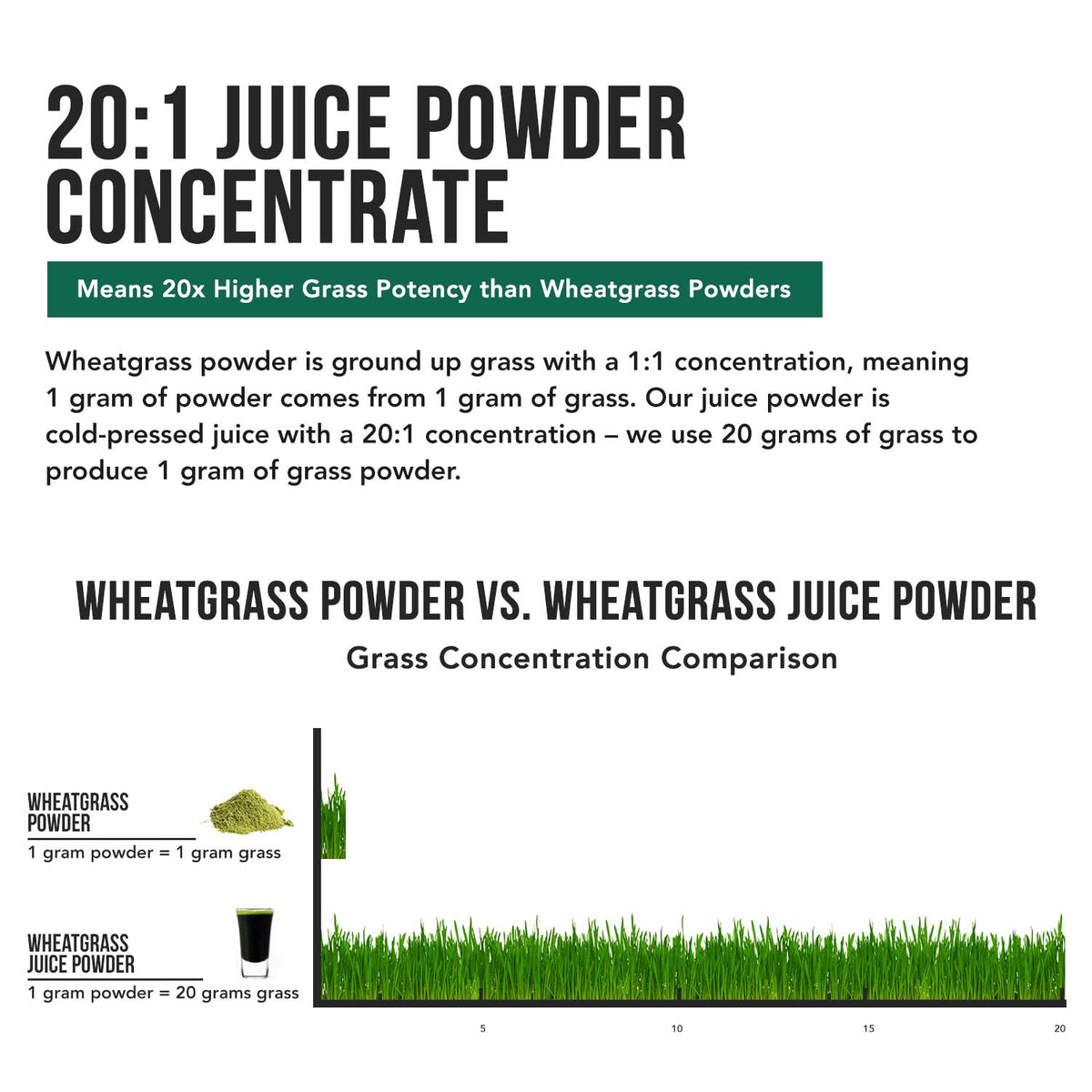 Organic Wheatgrass Juice Powder