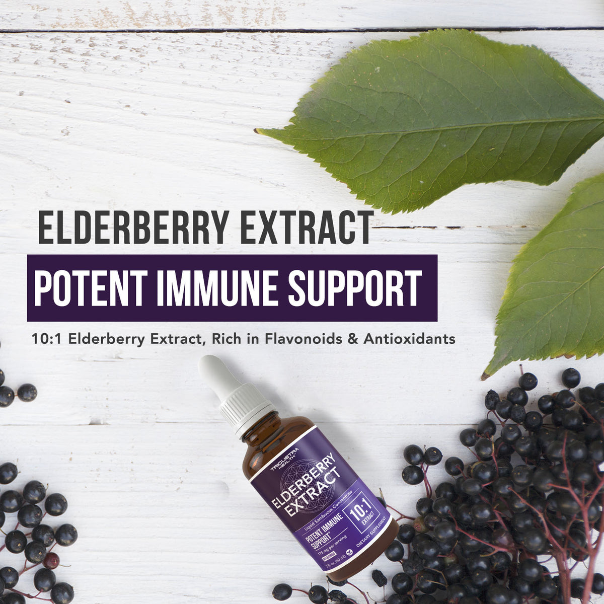 Elderberry Extract Liquid Supplement