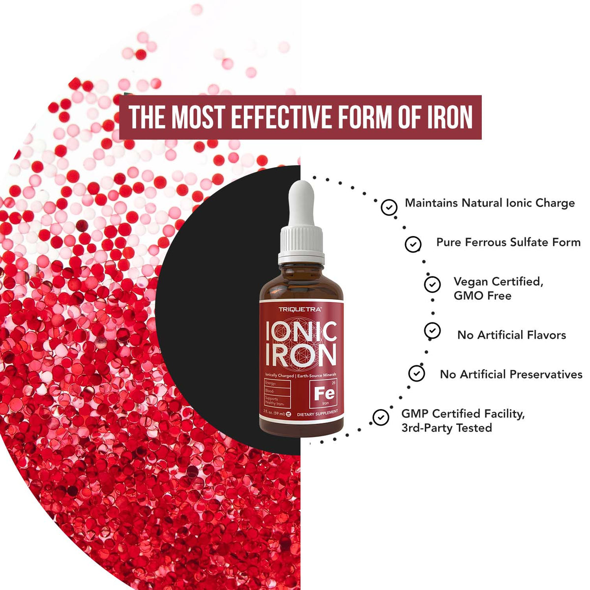 Ionic Iron Liquid Supplement