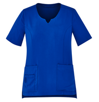 Ladies Round Neck Scrub Top