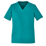 Ladies V-Neck Scrub Top