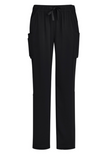 Womens Straight Leg Scrub Pant