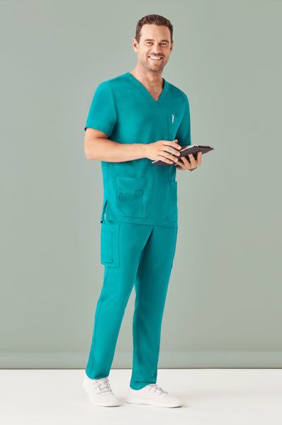 Mens V-Neck Scrub Top
