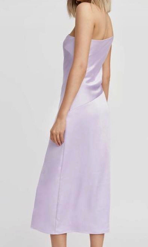 Como One Shoulder Midi Dress