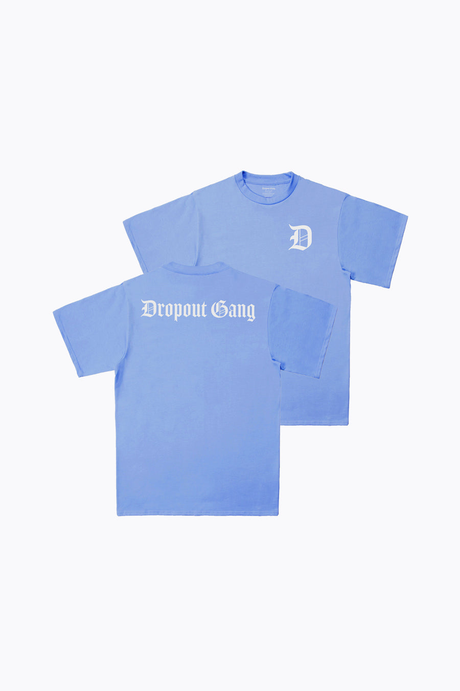 Dropout Gang Light Blue Tee