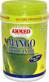 Ahmed foods mango pickle in oil