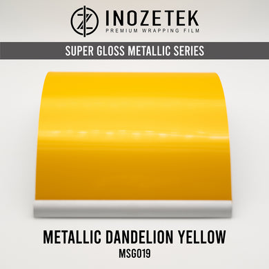Supergloss Metallic Dandelion Yellow - Inozetek USA