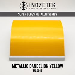 Supergloss Metallic Dandelion Yellow