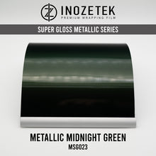 Supergloss Metallic Midnight Green - Inozetek USA