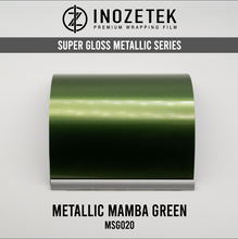 Supergloss Metallic Mamba Green - Inozetek USA