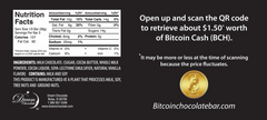 Back Bitcoin Chocolate Bar
