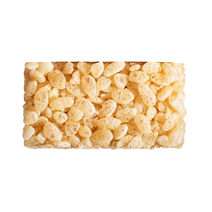 individual madegood vanilla crispy square out of wrapper