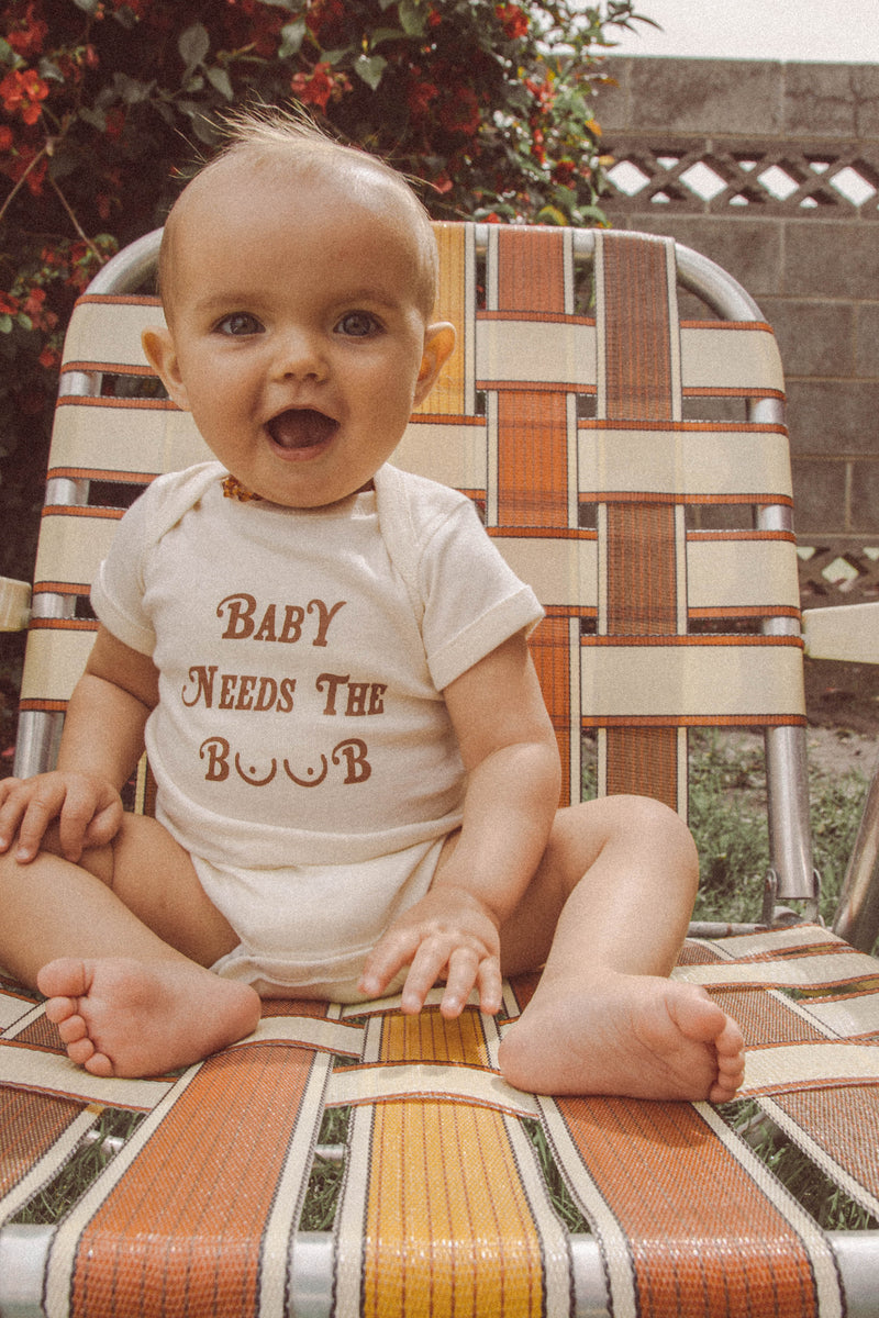 Baby Needs the Boob Onesie