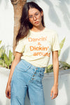 Dancin' and Dickin' Around women's vintage 70's t-shirt