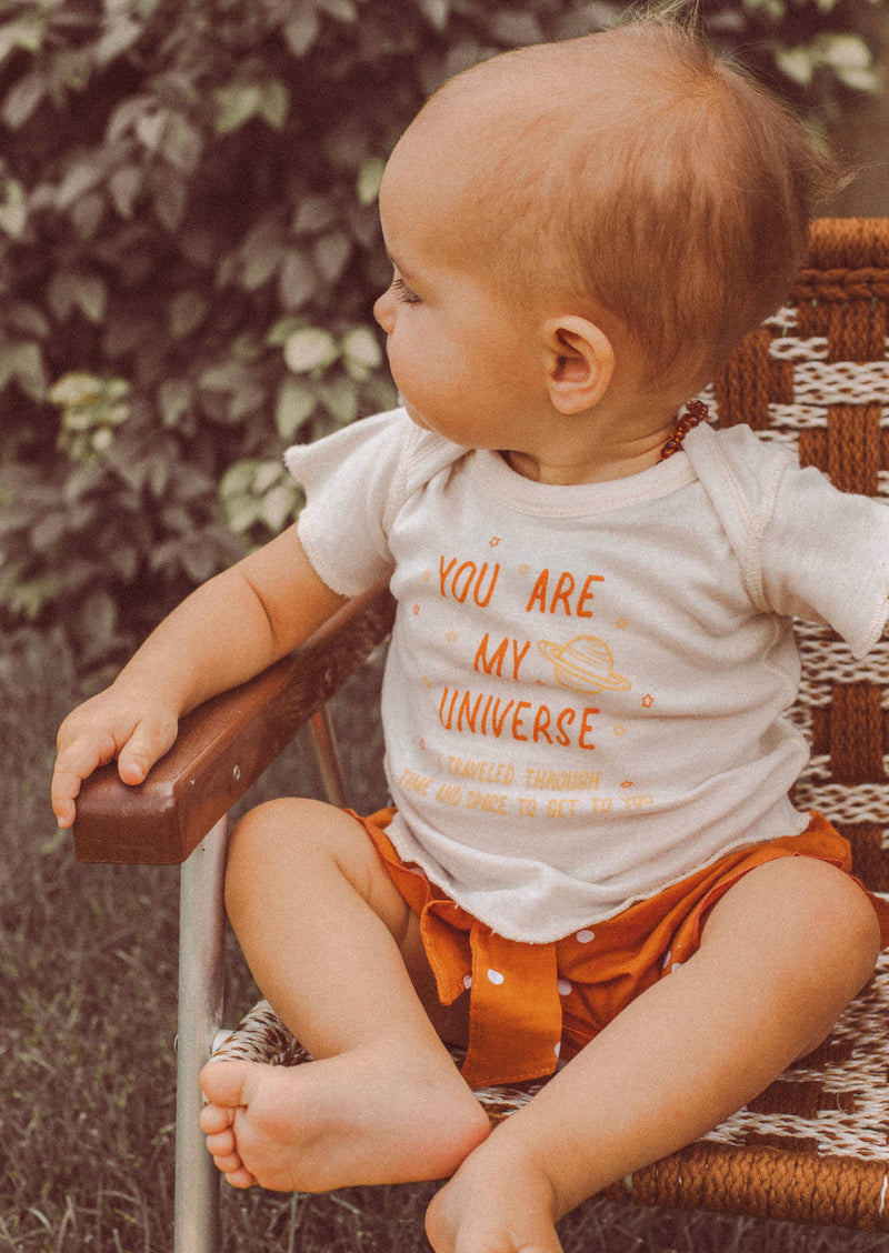 You Are My Universe Baby Tee