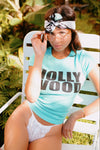 Hollywood California 70's Vintage Inspired t-shirt by Top Knot Goods