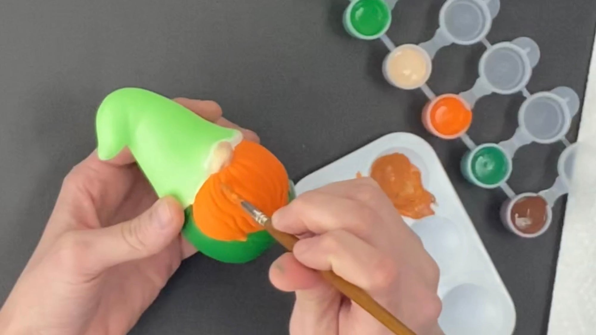 St. Patty's Day Gnome Painting Tutorial is now LIVE on Youtube!