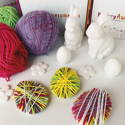 Easter Yarn Egg Tutorial