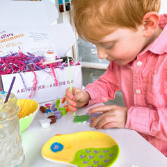 Spring Pottery Painting Kit for kids