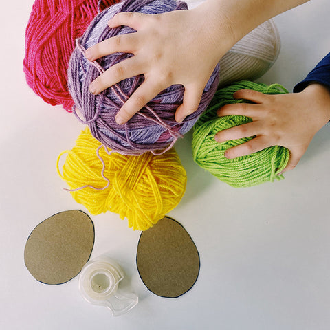 Select Yarn Colors