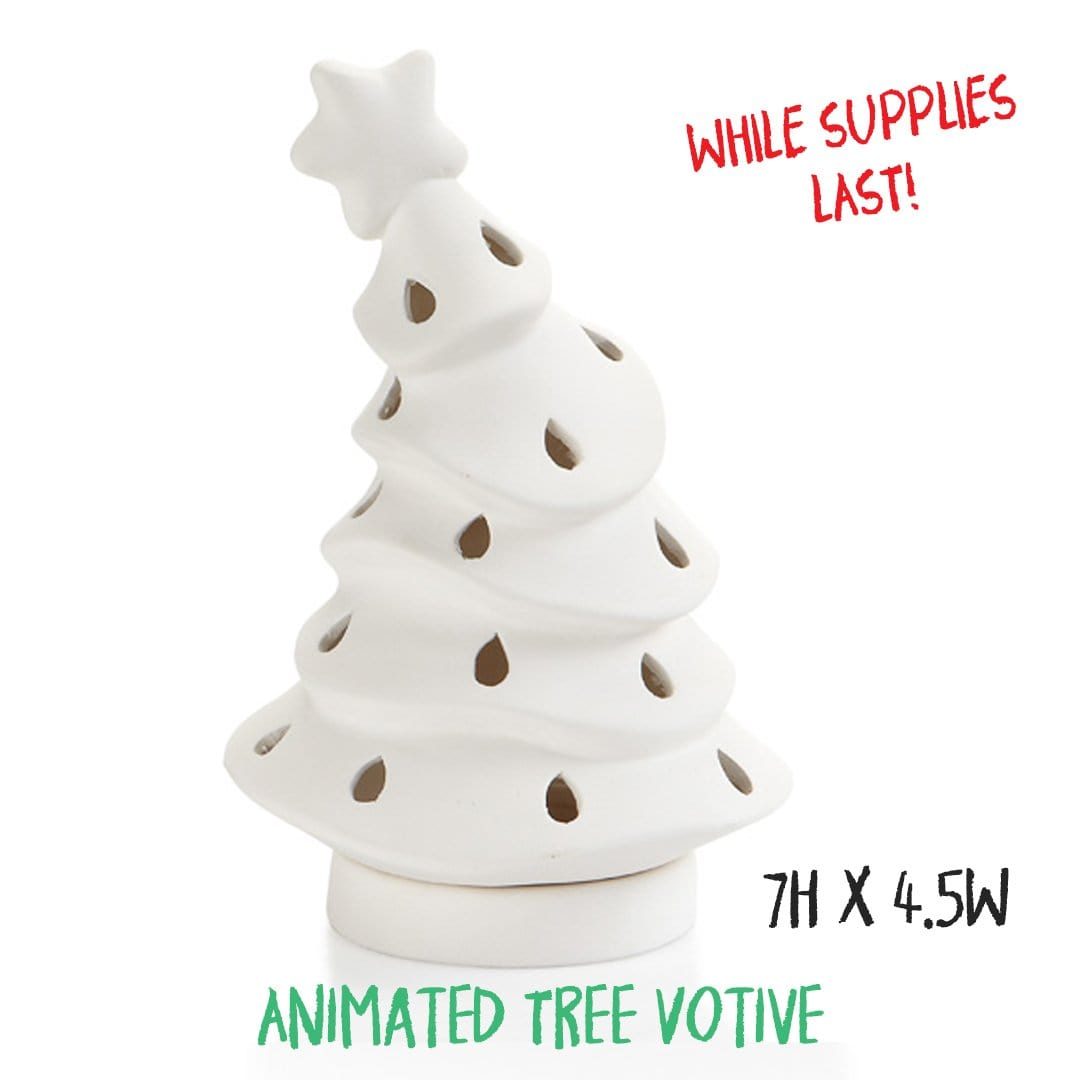 Christmas Customized Pottery Painting Kit - OVER 85% SOLD OUT!