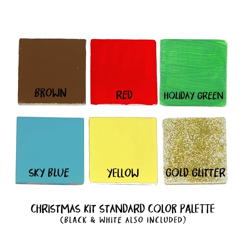 Extra Christmas Paint Palette