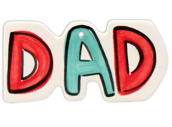 Dad Word Ornament - Pottery Pack