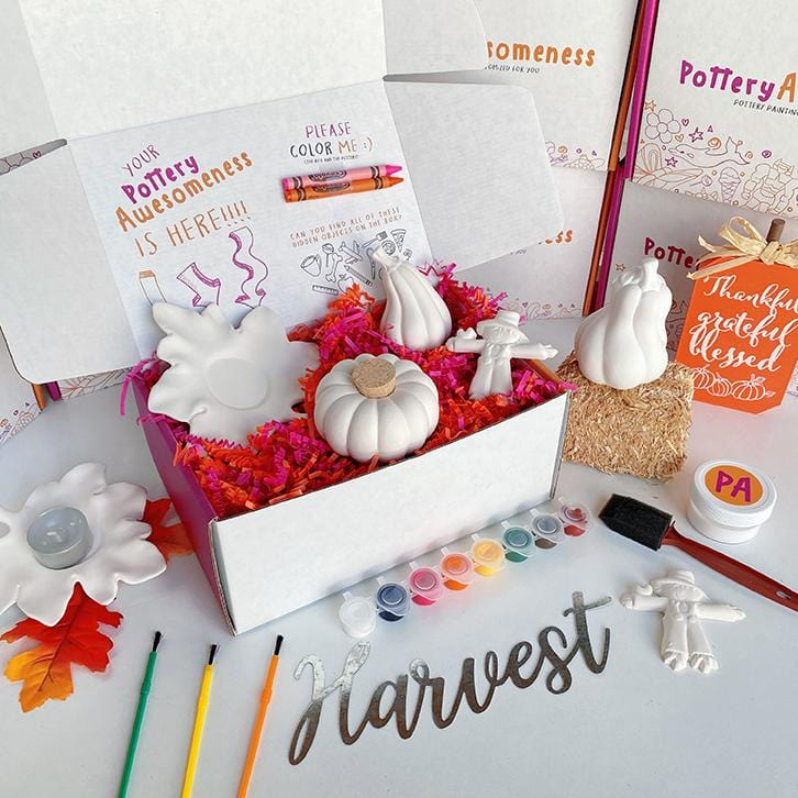 Fall Customized Pottery Painting Kit