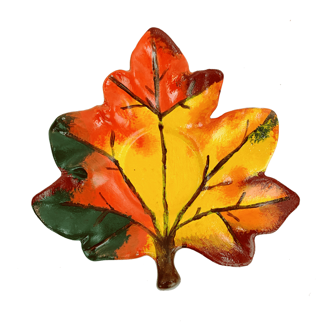"""Fall"" Customized Pottery Painting Kit"