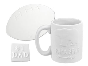 Father's Day Pottery Painting Kit