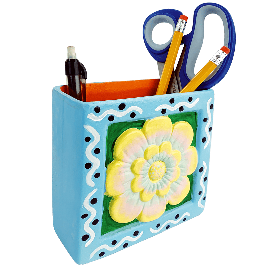 """Artist Tool Kit"" Customized Pottery Painting Kit"