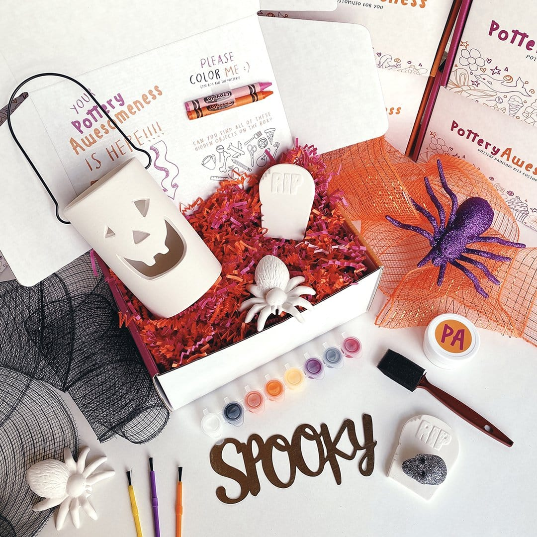 Halloween Customized Pottery Painting Kit