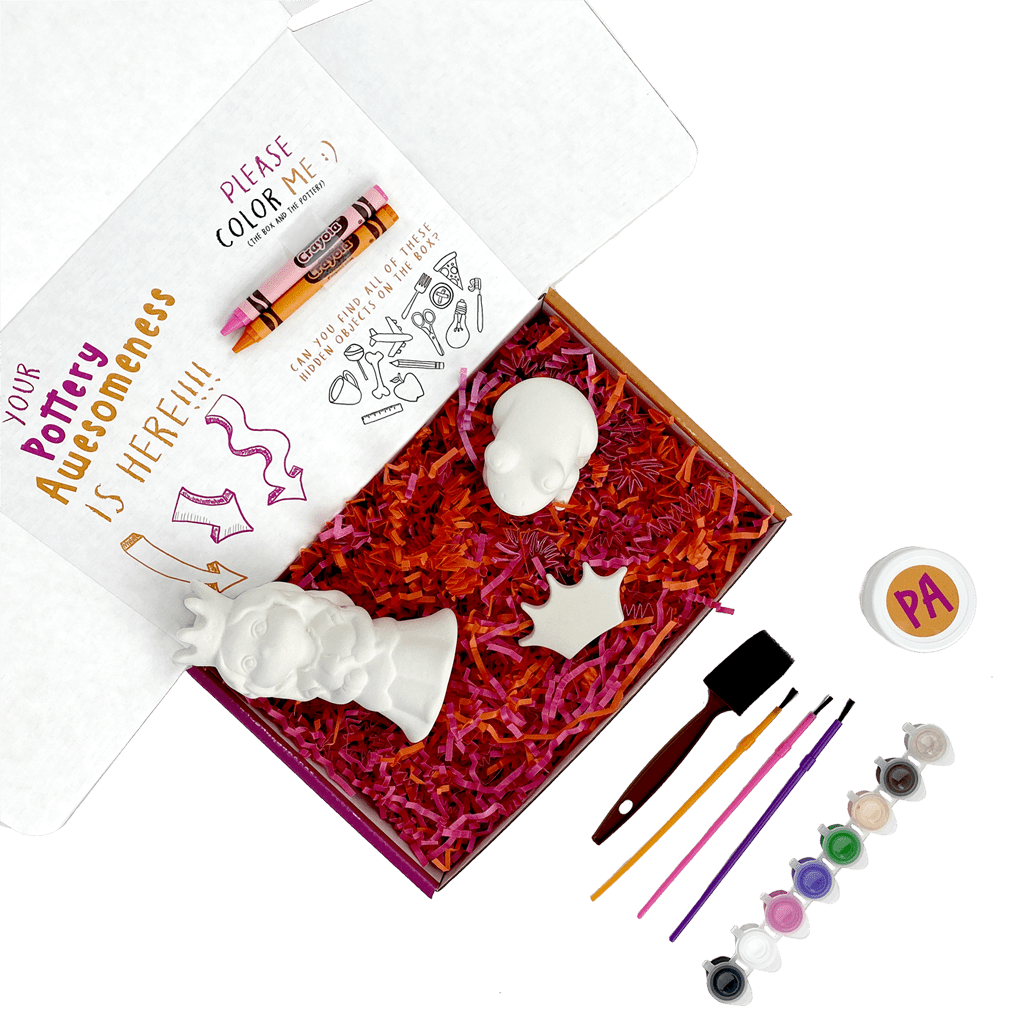 Pretty Princess Pottery Painting Kit
