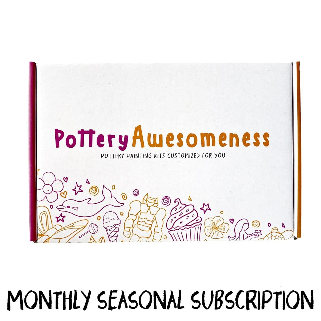 The Pottery Pack - A Monthly Seasonal Kit Subscription (FREE SHIPPING included)