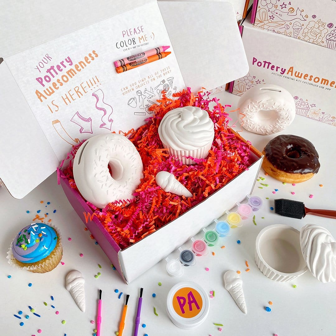 Sweet Tooth Pottery Painting Kit