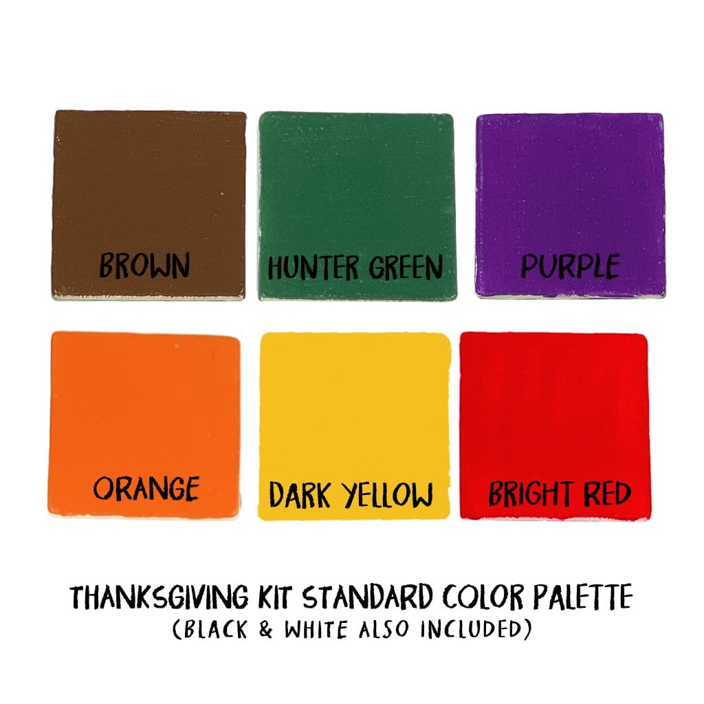 Thanksgiving Pottery Painting Kit - Coming Soon
