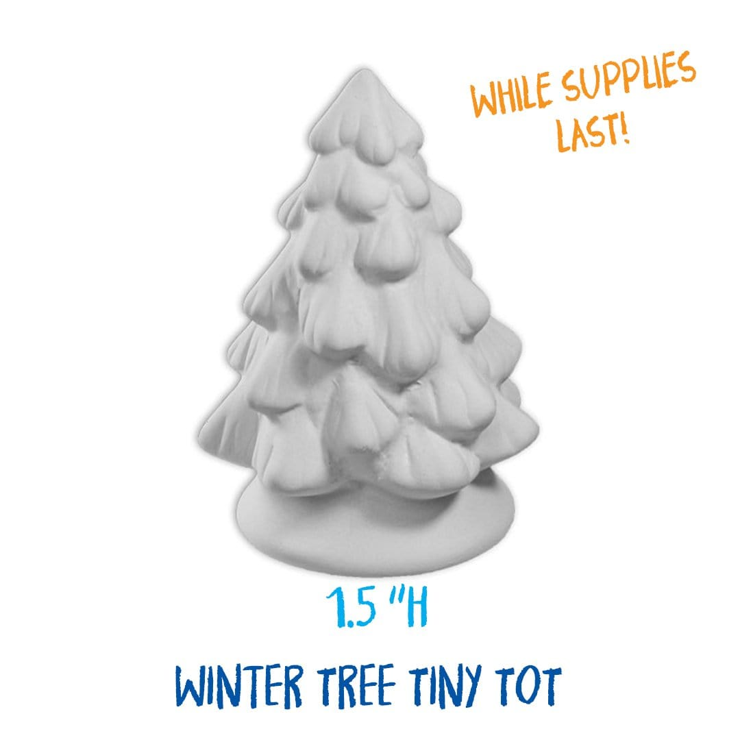 Winter Customized Pottery Painting Kit