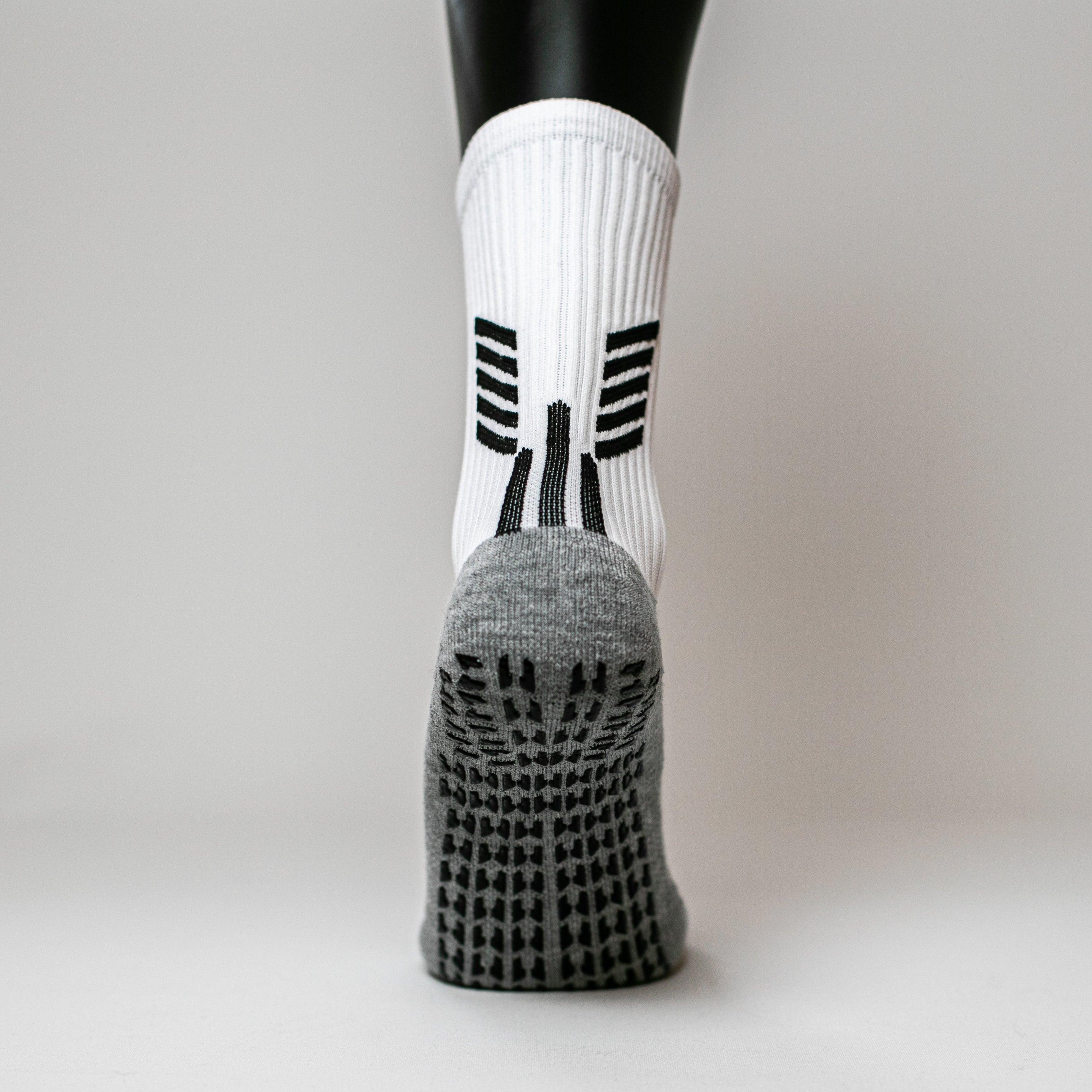"High Performance Sport Socks ""Super Grip"" White"
