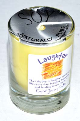 Laughter Soy Votive Candle