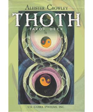 Thoth Tarot Deck By Crowley-harris