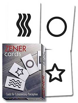 Zener Cards (esp Test Cards)