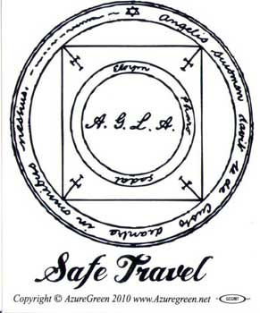 Safe Travel Bumper Sticker