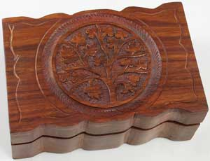 "Tree Of Life Herb Box 4"" X 6"""