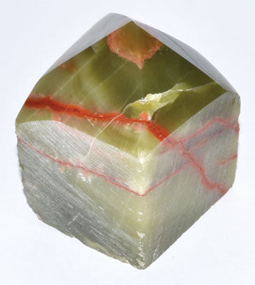 Aragonite, Green Top Polished Point