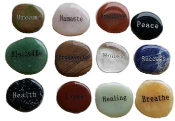 Inspirational Word Worry Stone (various Words)
