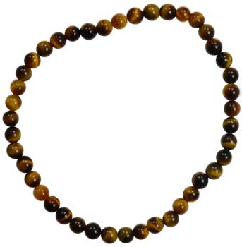 4mm Tiger Eye Stretch Bracelet